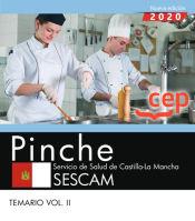 Pinche. Servicio de Salud de Castilla-La Mancha. SESCAM. Temario Vol. II de EDITORIAL CEP