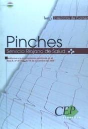 PINCHES SERVICIO RIOJANO DE SALUD. TEST Y SIMULACROS DE EXAMEN