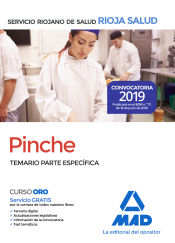 Pinches del Servicio Riojano de Salud. Temario parte específica de Ed. MAD