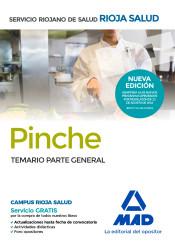Pinches del Servicio Riojano de Salud. Temario parte general de Ed. MAD