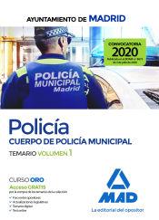 Policía del Cuerpo de Policía Municipal del Ayuntamiento de Madrid - Ed. MAD