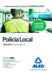 Policía Local de Andalucía. Temario Volumen 2 de Ed. MAD