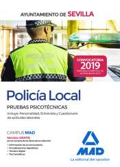 Policía local del Ayuntamiento de Sevilla. Pruebas psicotécnicas de Ed. MAD