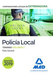 Policía Local de Extremadura - Ed. MAD