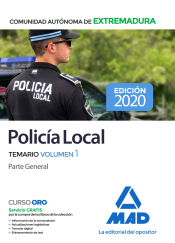 Policía Local de Extremadura - Ed. MAD