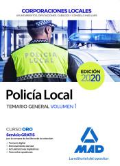 Policía Local de Corporaciones Locales - Ed. MAD
