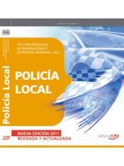 Policía Local. Test Psicotécnicos, de Personalidad y Entrevista Personal. Vol. I.