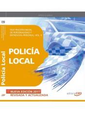 Policía Local. Test Psicotécnicos, de Personalidad y Entrevista Personal. Vol. II