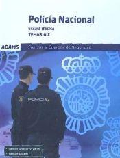Policía Nacional, Escala Básica. Temario 2