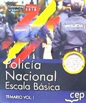 Policía Nacional. Escala Básica - EDITORIAL CEP