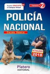 Policía Nacional Escala Básica. Temario Volumen II