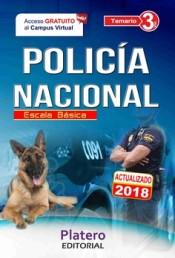 Policía Nacional Escala Básica. Temario Volumen III