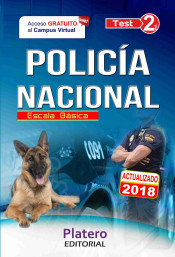 Policía Nacional Escala Básica. Test Volumen II