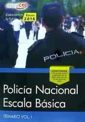 Policía Nacional Escala Básica. Vol. I, Temario