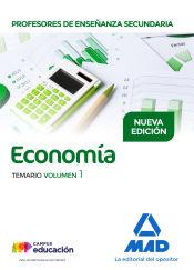Profesores de Enseñanza Secundaria Economía - Ed. MAD