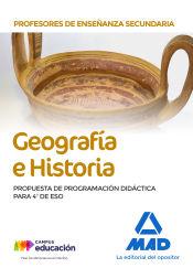 Profesores de Enseñanza Secundaria. Geografía e Historia - Ed. MAD