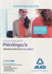 Psicólogo de la Xunta de Galicia - Ed. MAD
