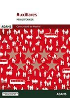 Psicotécnicos Auxiliares de la Comunidad de Madrid de Ed. Adams
