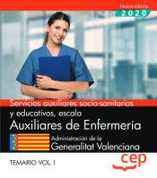 Auxiliar de Enfermería de la Administración de la Generalitat Valenciana - EDITORIAL CEP