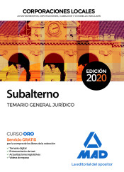 Subalterno de Corporaciones Locales - Ed. MAD