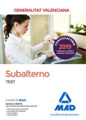 Subalterno de la Generalitat Valenciana. Test de Ed. MAD
