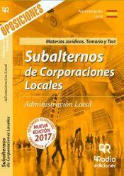 Subalternos de Corporaciones Locales - Rodio Ediciones