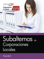 Subalternos de Corporaciones Locales - EDITORIAL CEP