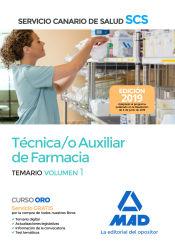 Técnico Auxiliar de Farmacia del Servicio Canario de Salud (SCS) - Ed. MAD