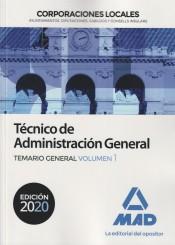 Técnico de Administración General de Corporaciones Locales - Ed. MAD