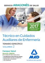 Técnico en Cuidados Auxiliares de Enfermería del Servicio Aragonés de Salud. Temario específico volumen 2