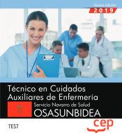 Técnico en Cuidados Auxiliares de Enfermería. Servicio Navarro de Salud-Osasunbidea. Test de EDITORIAL CEP
