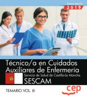 Técnico/a en cuidados auxiliares de enfermería. Servicio de Salud de Castilla-La Mancha (SESCAM) - EDITORIAL CEP
