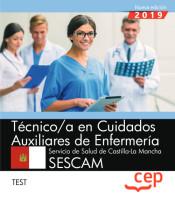 Técnico/a en Cuidados Auxiliares de Enfermería. Servicio de Salud de Castilla-La Mancha. SESCAM. Test de Ed. CEP