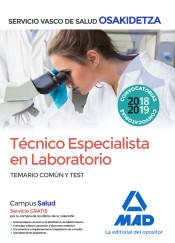 Técnico Especialista en Laboratorio de Osakidetza-Servicio Vasco de Salud. Temario Común y test