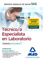Técnico Especialista de Laboratorio del Servicio Andaluz de Salud (SAS) - Ed. MAD