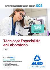 Técnico/a Especialista en Laboratorio del Servicio Canario de Salud. Test de Ed. MAD