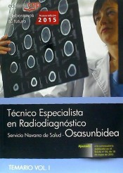 Técnicos Especialistas en Radiodiagnóstico del Servicio Navarro de Salud (Osasunbidea) - EDITORIAL CEP