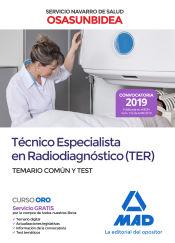 Técnico Especialista En Radiodiagnóstico Del Servicio Navarro De Salud (Osasunbidea) - Ed. MAD