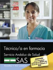 Técnico en Farmacia del Servicio Andaluz de Salud (SAS) - EDITORIAL CEP
