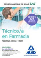 Técnico en Farmacia del Servicio Andaluz de Salud (SAS) - Ed. MAD