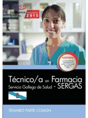Técnico/a en Farmacia del Servicio Gallego de Salud (SERGAS) - EDITORIAL CEP