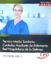 Auxiliar de Enfermería de la Red Hospitalaria de la Defensa - EDITORIAL CEP