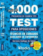 Técnicos en Cuidados Auxiliares de Enfermería. Servicio Gallego de Salud. Más de 1.000 preguntas de examen. de Ediciones Rodio