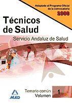 Técnico de Salud del Servicio Andaluz de Salud (SAS) - Ed. MAD