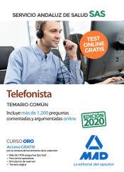 Telefonista del Servicio Andaluz de Salud - Ed. MAD