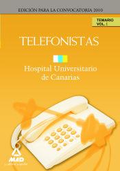Telefonistas del Hopital Universitario de Canarias - Ed. MAD