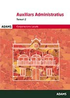 Temari 2 Auxiliars Administratius Corporacions Locals de Catalunya de Ed. Adams