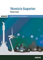 Temari comú Tècnic superior de l'Ajuntament Barcelona de Ed. Adams