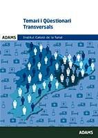 Temari i Qüestionari transversals del Institut Català de la Salut (ICS) de Centro de Estudios Adams - Ediciones Valbuena