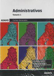 Administrativo de las Cortes Generales - Ed. Adams